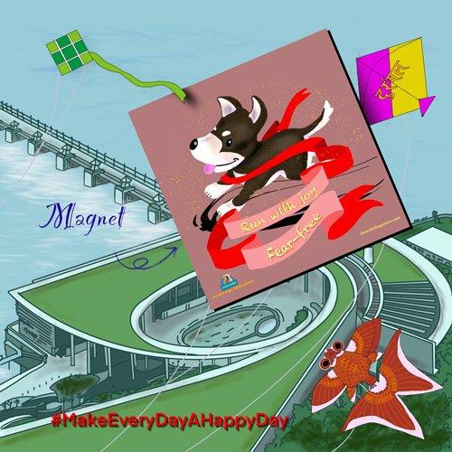 Benji Run With Joy Fear Free Motivational Magnet Story