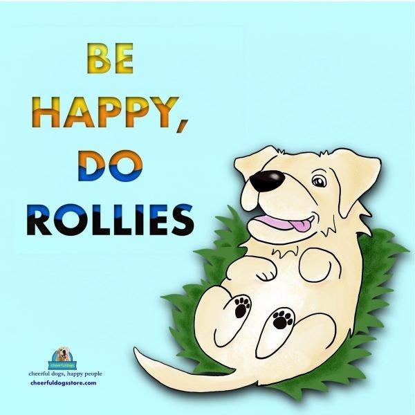Kiyo Be Happy Dp Rollies Motivational Magnet