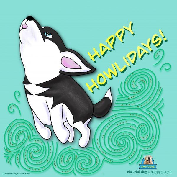 Piko Happy Howlidays Motivational Magnet